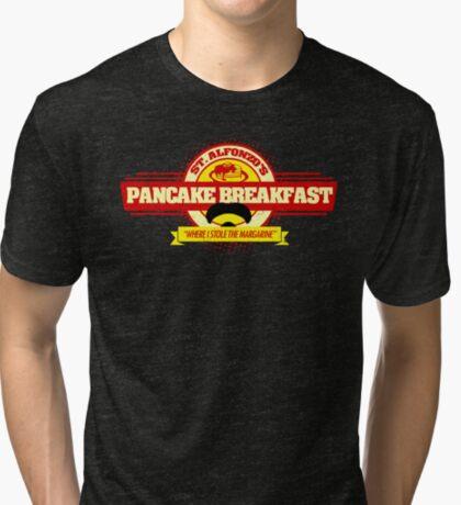 Saint Alphonzo's Pancake Breakfast  Tri-blend T-Shirt