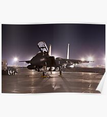 F15E as a Rock Star Poster
