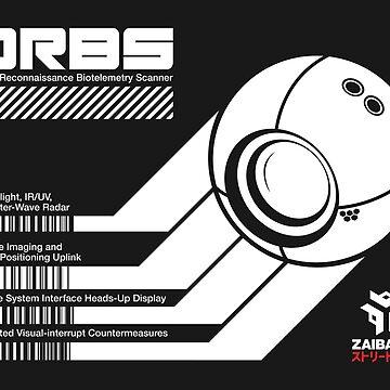 ORBS - Sticker by WolfeCreative