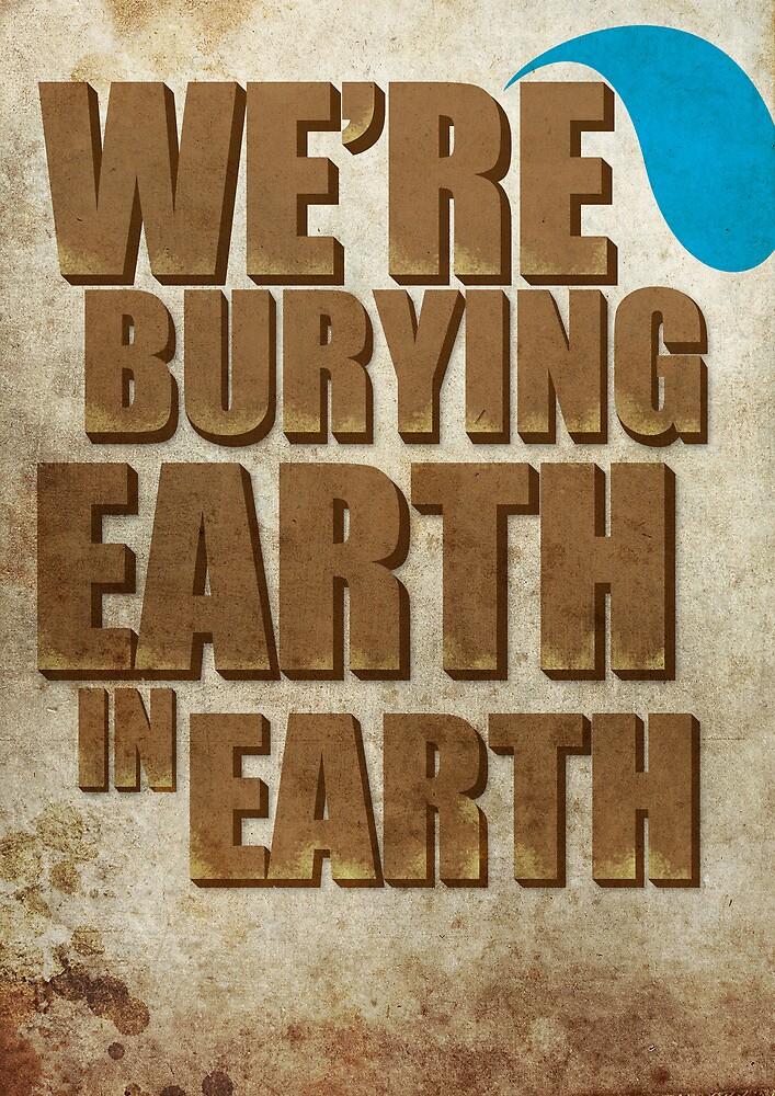 Earth In Earth Poster by Scott  Bailey