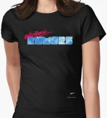 Electronic Rumors: V3.0 Women's Fitted T-Shirt