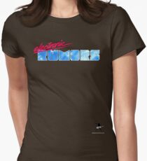 Electronic Rumors: V3.0 Womens Fitted T-Shirt