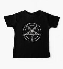 Camiseta para bebés Baphomet Pentagram