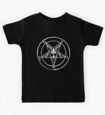 Baphomet Pentagram Kids Tee