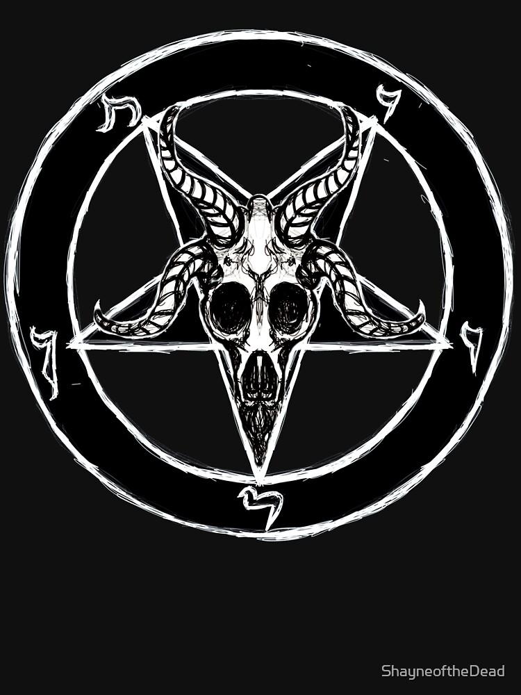 Baphomet Pentagram de ShayneoftheDead