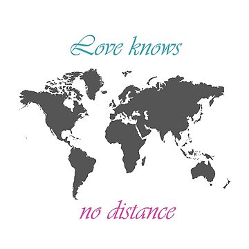 Love knows no distance by inkedollxx