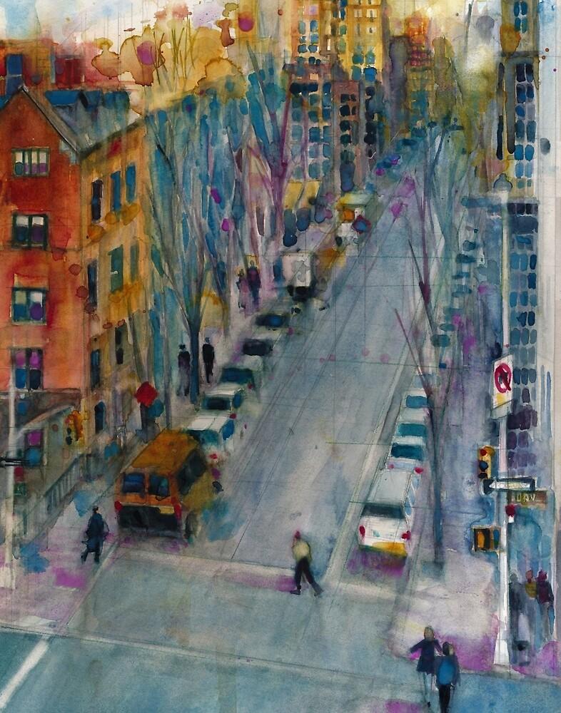 HIGHLINE, NEW YORK CITY  LOWER WESTSIDE  10ST by Dorrie  Rifkin