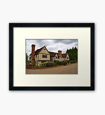 Cain Manor Framed Print
