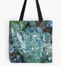 Frozen Grass Tote Bag
