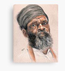 Rasta Elder Canvas Print