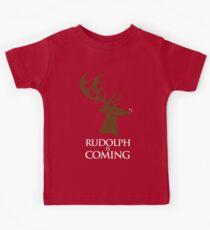 Rudolph is coming Kids Tee