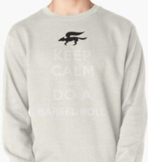 Keep Calm and Do a Barrel Roll Pullover