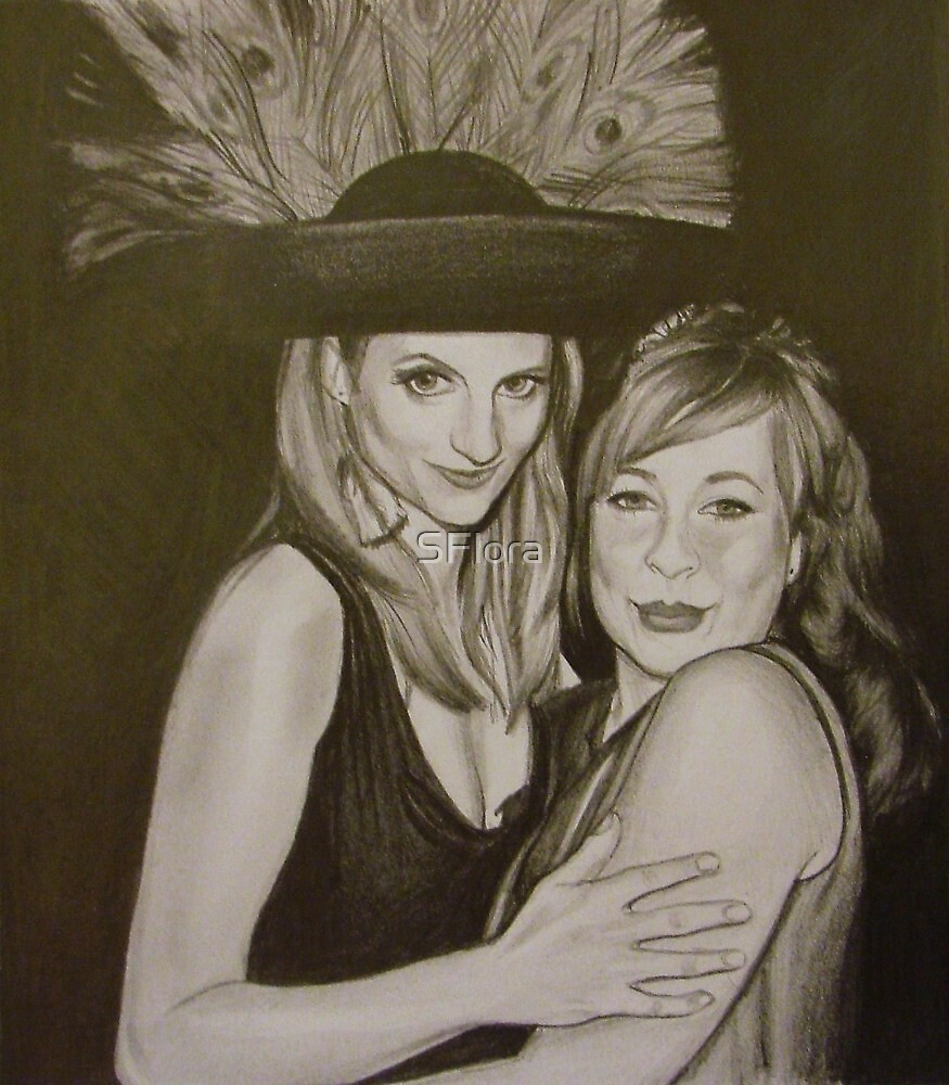 Kat and Amy by Sukhwinder Flora