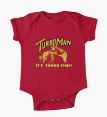 It's Turbo Time!!!  Short Sleeve Baby One-Piece
