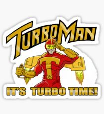 It's Turbo Time!!!  Sticker