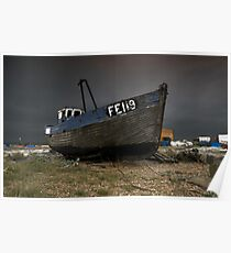 Dungeness Fishing Boat Poster