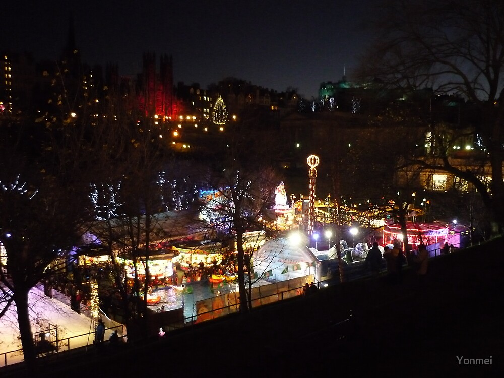 Edinburgh: Christmas Fair by Yonmei