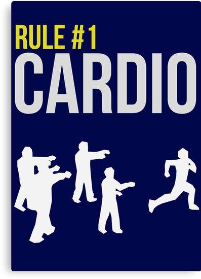 Zombie Survival Guide - Rule #1 Cardio by AlexNoir