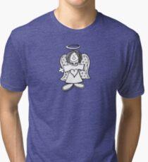 Little Hey Angel Baby! (t-shirt / sticker) Tri-blend T-Shirt