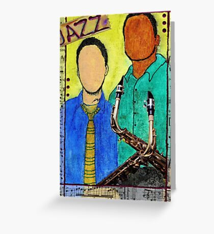 Smooth JAZZ Greeting Card