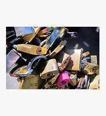 Loads of locks Photographic Print