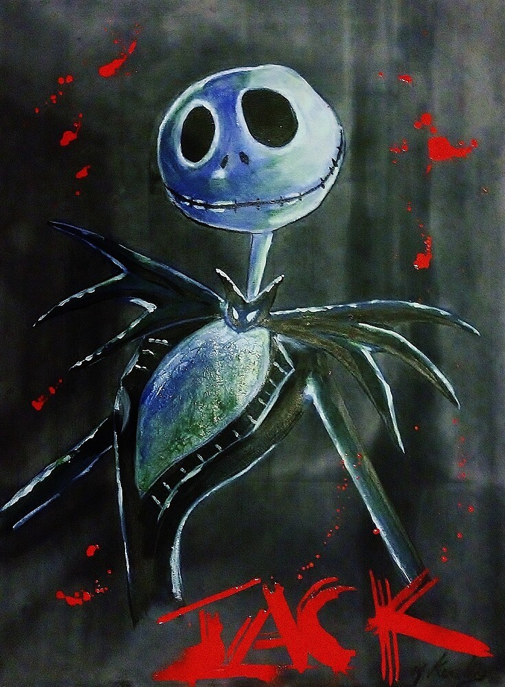 Nightmare before christmas Jack by Markkinsley