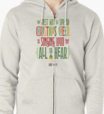 Buddy the Elf - Christmas Cheer Zipped Hoodie