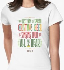 Buddy the Elf - Christmas Cheer Women's Fitted T-Shirt