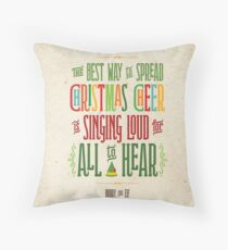 Buddy the Elf - Christmas Cheer Throw Pillow