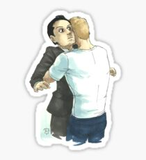 Post-Reichenbach Hug Sticker