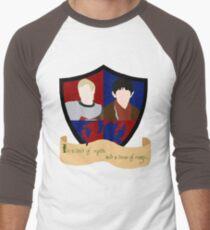 The Shield of Merlin & Arthur  Men's Baseball ¾ T-Shirt