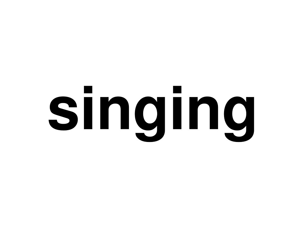 singing by ninov94