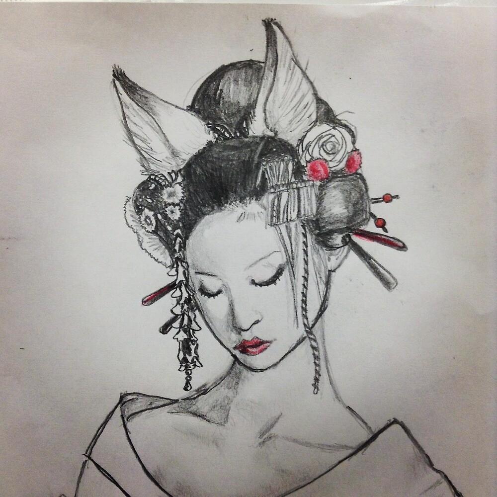 Kitsune by AlecTheFox