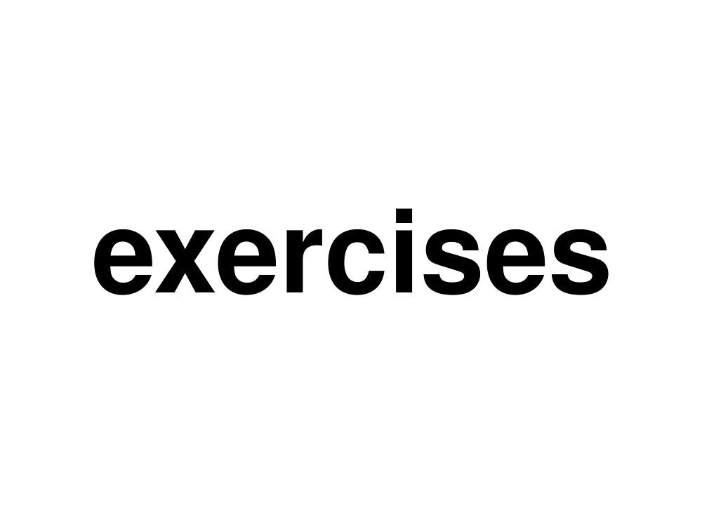 exercises by ninov94