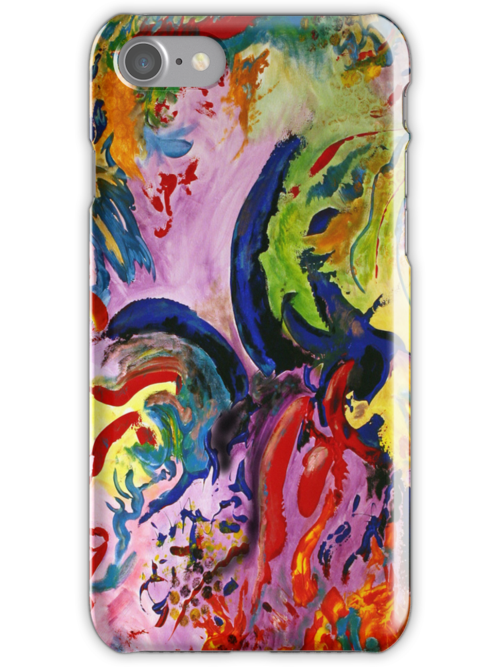 Peace and Wisdom iPhone case by Denice Taylor Rinks