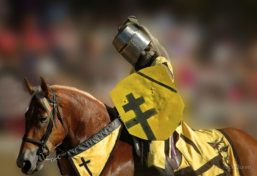 The Jouster by Nick Boren