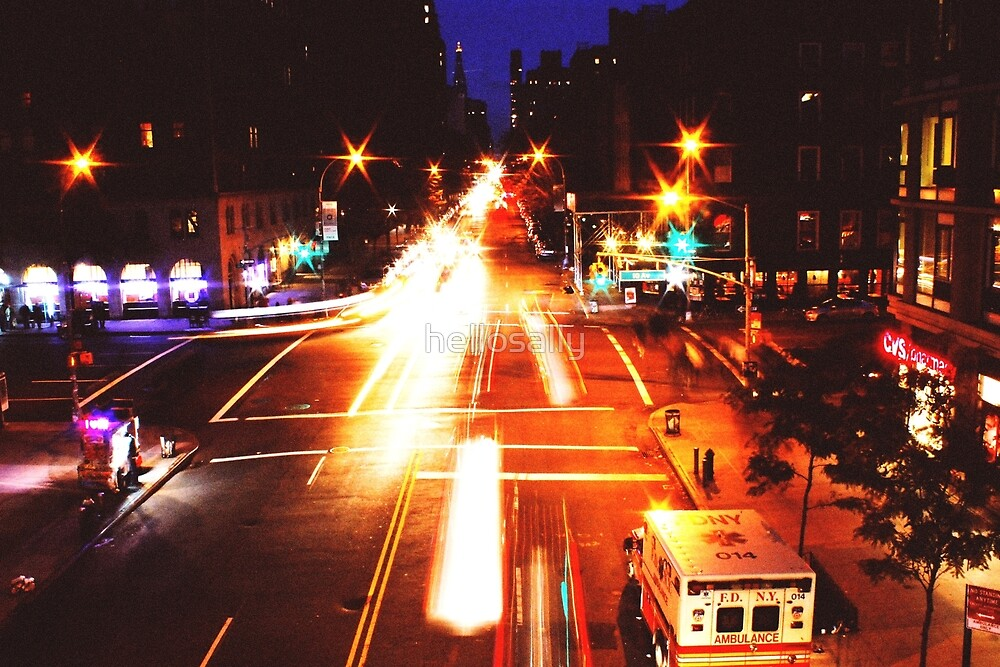 10th Ave from Highline by hellosally