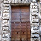 Medieval Door, Assisi by Barbara Wyeth