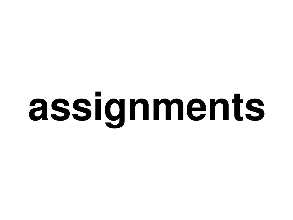 assignments by ninov94
