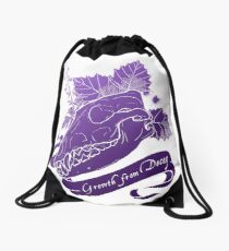 Hollowheart Keep - Gradient Fill, No Outline Drawstring Bag