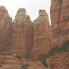 Man & Woman Rocks of Sedona by Cawritergirl