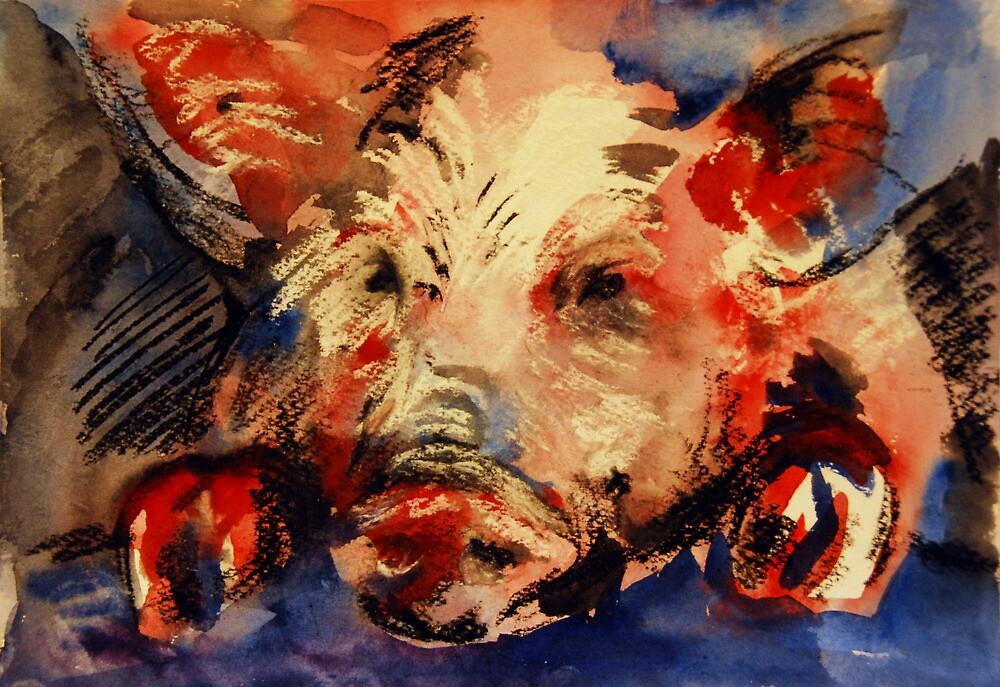 """Piggy"" by Tatjana Larina"