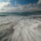 Rushing Waves by jadennyberg