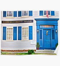 Narragansett Bank - Wickford Rhode Island Poster