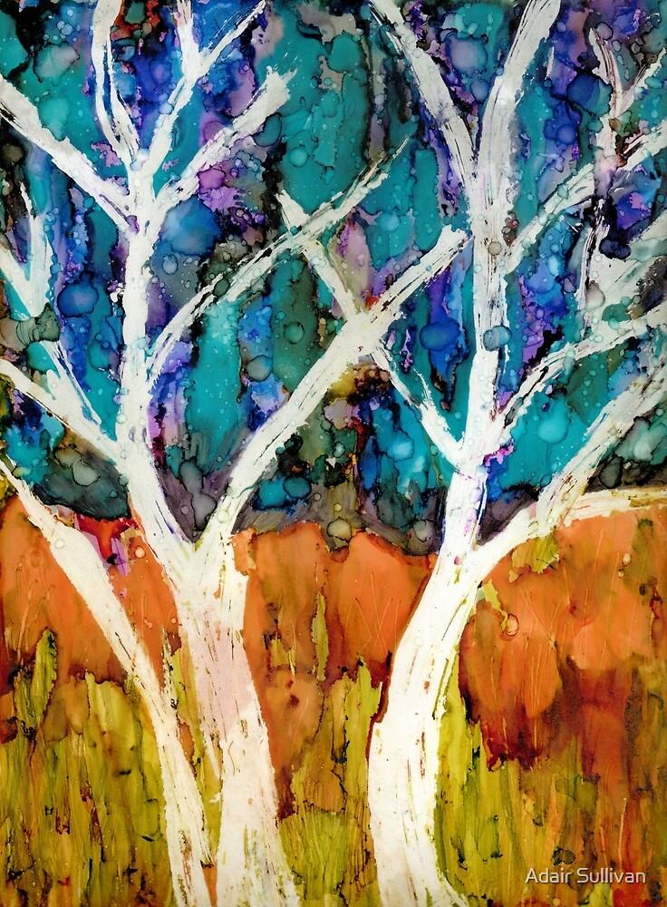 Aspen Trees by Adair Sullivan (Ó Súilleabháin)