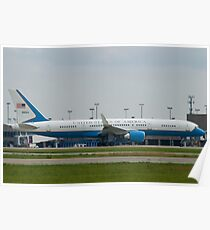 90003 Air Force Two Boeing VC-32A 757-2G4 Take Off Poster