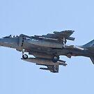 Side Shot AV8B Harrier by Henry Plumley