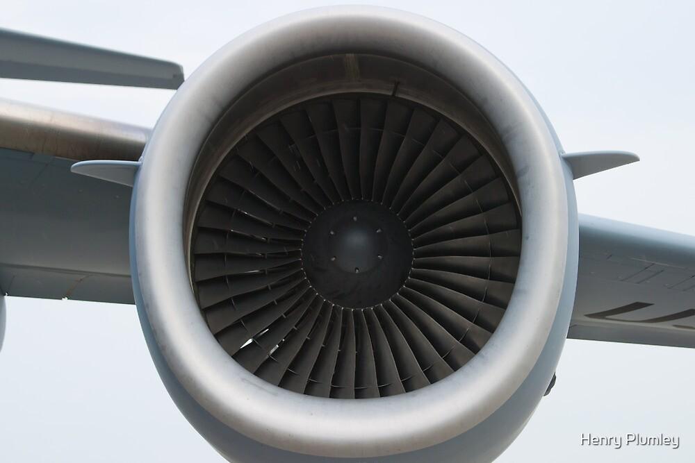 AFRC 93-0603 C-17A Globemaster III Engine by Henry Plumley