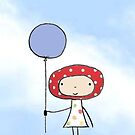Balloon girl by Hannah Fortune