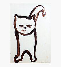 Scat, Cat! 6 Photographic Print
